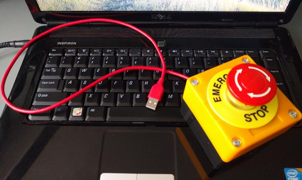 Arduino leonardo atmega u usb power button computer