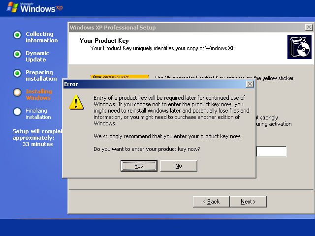 Valid windows xp sp2 product keys pure overclock for Window xp key